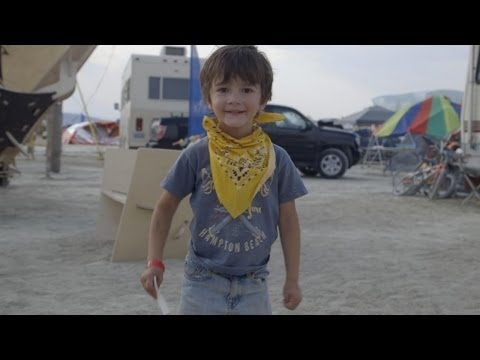 Burning Man through the eyes of kids