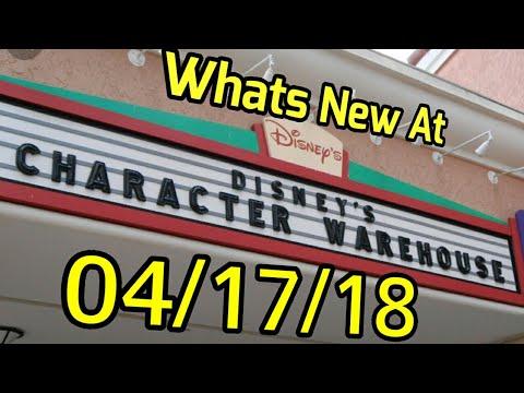 Disney's Character Warehouse update| 04/17/18