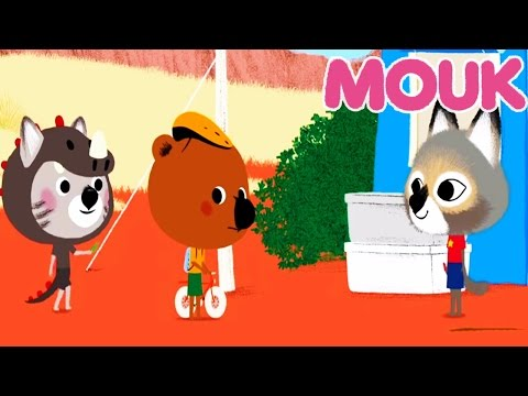 Mouk - Dinosaur trail ( USA ) and Birdsong ( China ) | Cartoon for kids
