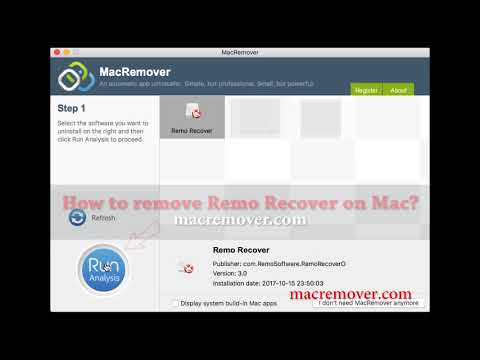 How to remove Remo Recover on your macOS and Mac OS X?
