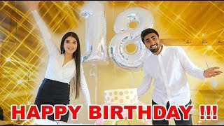 SURPRISE 18TH BIRTHDAY PARTY *EMOTIONAL* !!!