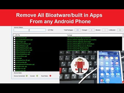 Exclusive : Remove All Bloatware/built in Apps from any Android Smartphone without root