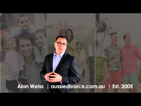 Property Settlement in family law by Alan Weiss , aussie divorce