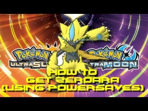Pokemon Ultra Moon: How to Get Zeraora (Using POWERSAVES)