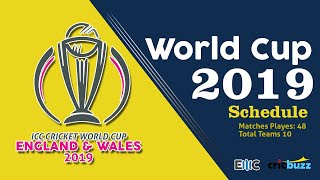 World Cup 2019 | All Details (2017-2018-2019) # ICC Cricket Event Schedule till World Cup 2019