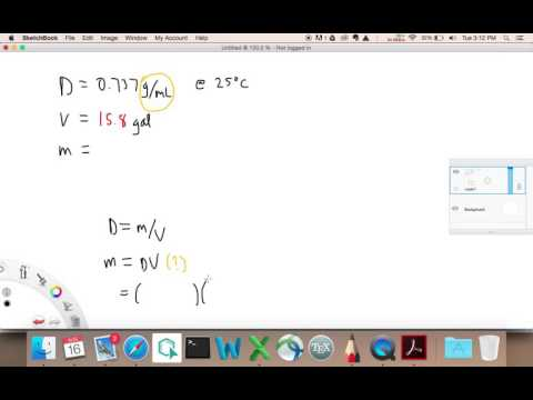 Calculating Mass from Density and Volume