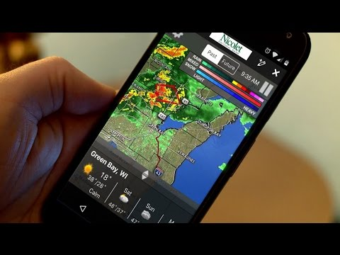 Getting alerts to your phone during severe weather