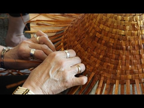 Story of Cedar, Cedar Hat Weaving & Bark Pulling  Cowichan Coast Salish