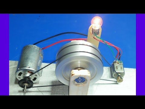 How to make 100% free energy generator without battery with the help of flywheel  exhibition