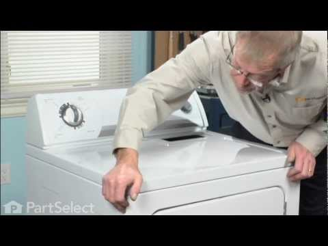 Dryer Repair - Replacing the Door Switch Assembly (Whirlpool Part # 3406107)