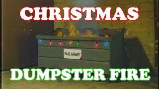 🔥 Virtual Yule Log - Dumpster Fire 2020 - FailArmy Classic Christmas Soundtrack 🔥