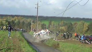 Rally du Condroz 2017 | Big Crash & Flatout Action  [HD]