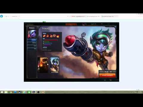 Two Free League of Legends skins and champions.