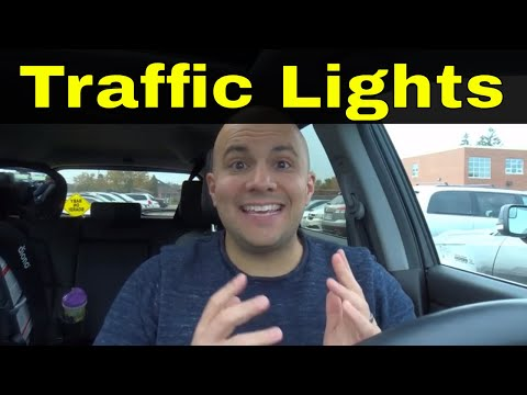 Reason To Fail The Driving Test-Responding To Traffic Lights