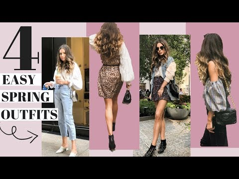 What I Wore This Week   4 Practical Looks    Look Book + Talk Through