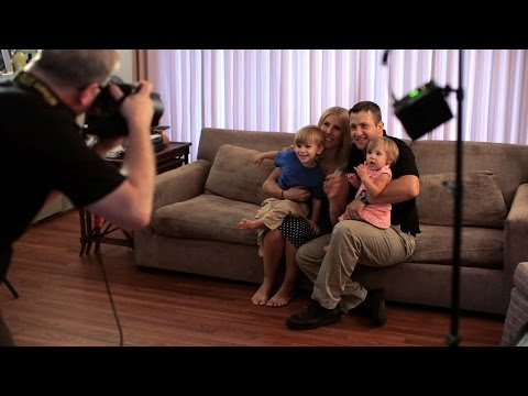 How to Shoot Family Portraits Inside | Portrait Photography
