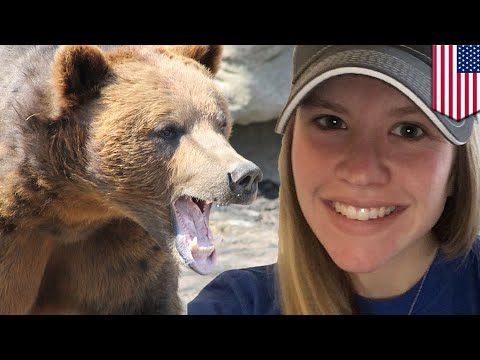 Woman v grizzly bear: Woman lives through bear mauling - TomoNews