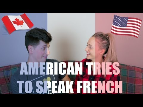 American Tries To Speak French | MARRIED COUPLE