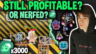 IS THIS STILL THE BEST WAY TO PROFIT?! (3000+ GIJ) | Growtopia