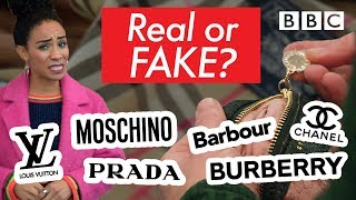 Tips for spotting genuine designer clothing   Fake Britain - BBC