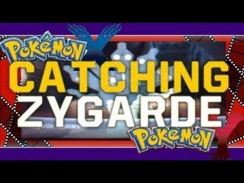 Pokemon X/Y.  Where To Find Zygarde - Terminus Cave