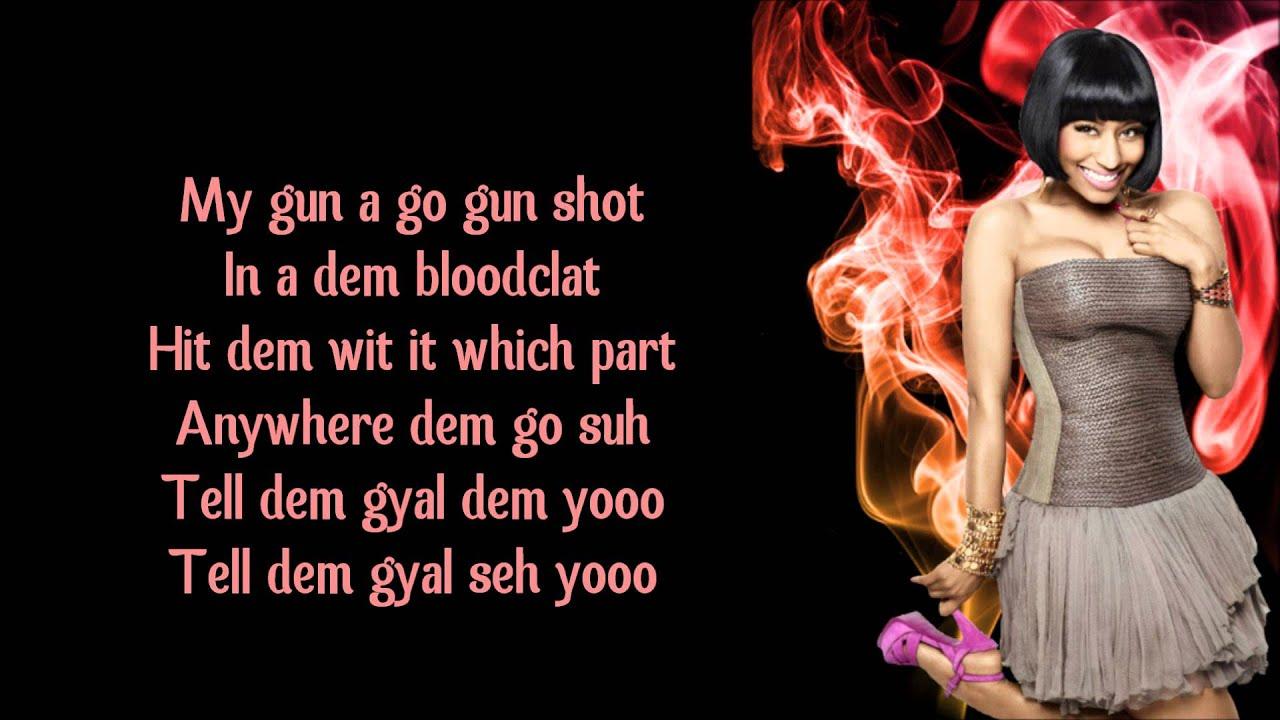Nicki Minaj - Gun Shot (feat. Beenie Man)
