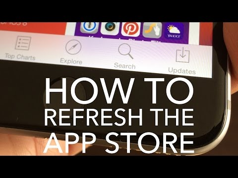 TRICK: How to Quickly Refresh the App Store in iOS 8