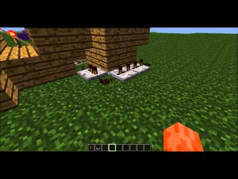 Minecraft Tutorial |Small Villager Transportation | Minecarts