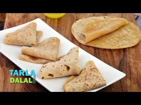Padvali Roti, Gujarati Thin Rotli Recipe by Tarla Dalal