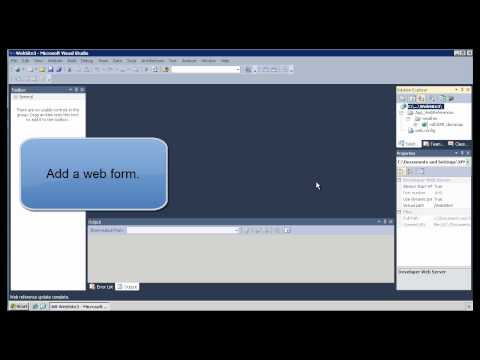Get the Weather Web Service with Visual Studio 2010