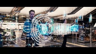 All tony Stark creating and Inventing gadgets Scenes | Iron Man | Storm Hack