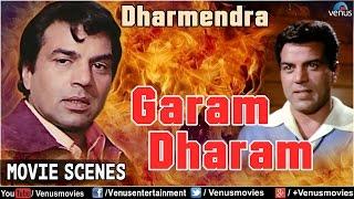 Dharmendra - Garam Dharam | Action Scenes | Hindi Movies | Movies Scenes Jukebox