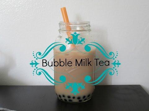Bubble Milk Tea (Tapioca Pearl) Recipe 波霸奶茶   Kylie Eats