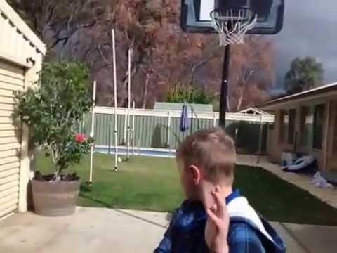 Football trick shots fail