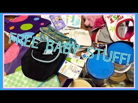 FREE Baby Stuff! - Diapers, Formula, Bottle, and More