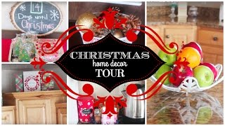 CHRISTMAS HOME DECOR TOUR 2015! DOLLAR TREE & DIY!