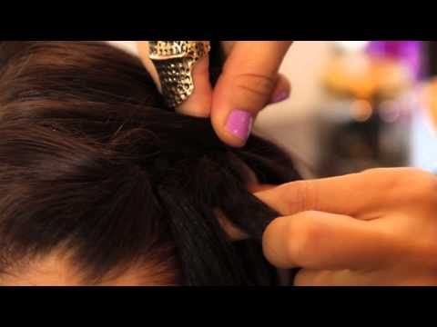 How to Do a Waterfall Braid if You Have Layers : The Braids of Dreams