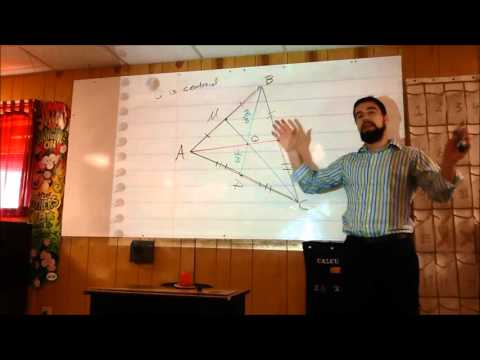 Median Lengths and Centroid