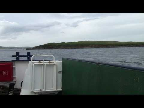Unst to Yell Car Ferry in Shetlands