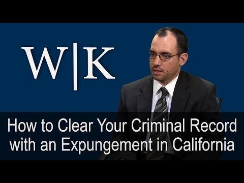 How to Clear Your Criminal Record with an Expungement