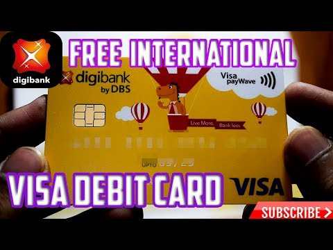 (Hindi) How To Get Free International Physical Debit Card by DBS || unlimited atm transaction ||