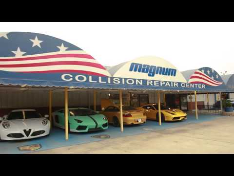 Exotic Car Repair at Magnum Collision Center