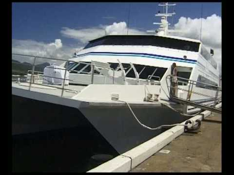 Join a Test Run Aboard the Super Fast Catamaran  Xiang Zhen SAS