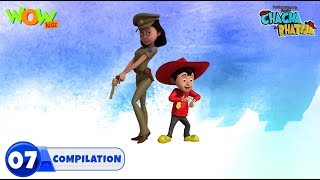 Chacha Bhatija Non stop 3 episodes | 3D Animation for kids | #7