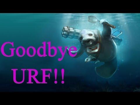 Goodbye URF Ultra Rapid Fire Tribute League Of Legends