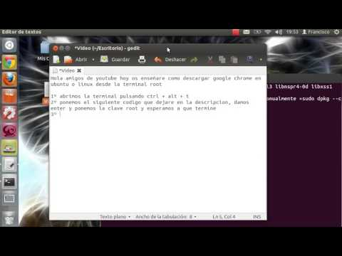 Instalar Google Chrome en Ubuntu/Linux desde la Terminal
