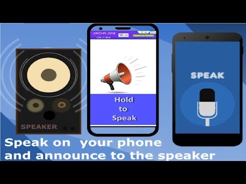 Easy to Used Android Phone as a Announcement Mike 2018