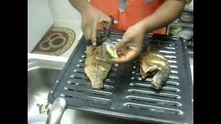 Baked Tilapia Fish With Fresh Pepper