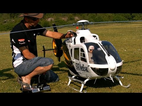 Large Scale Rc Helicopter Models - Helicopter and Bridge Wallpaper