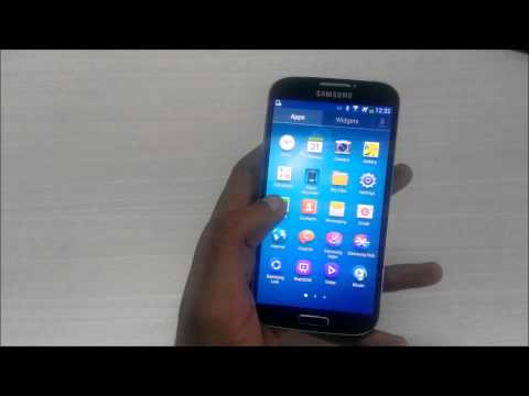 Samsung Galaxy S4 - Enable or Disable the Sidebar